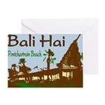 New Orleans Bali Hai Art Greeting Card