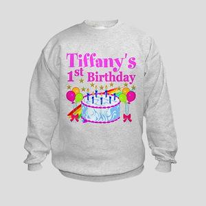 PERSONALIZED 1ST Kids Sweatshirt