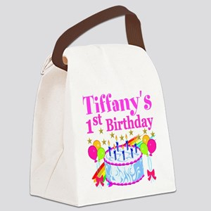 PERSONALIZED 1ST Canvas Lunch Bag