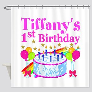 PERSONALIZED 1ST Shower Curtain