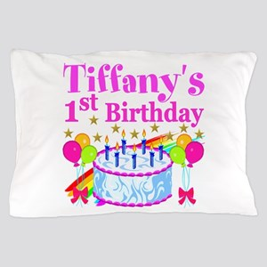 PERSONALIZED 1ST Pillow Case