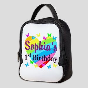 LOVELY 1ST Neoprene Lunch Bag