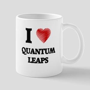 I Love Quantum Leaps Mugs
