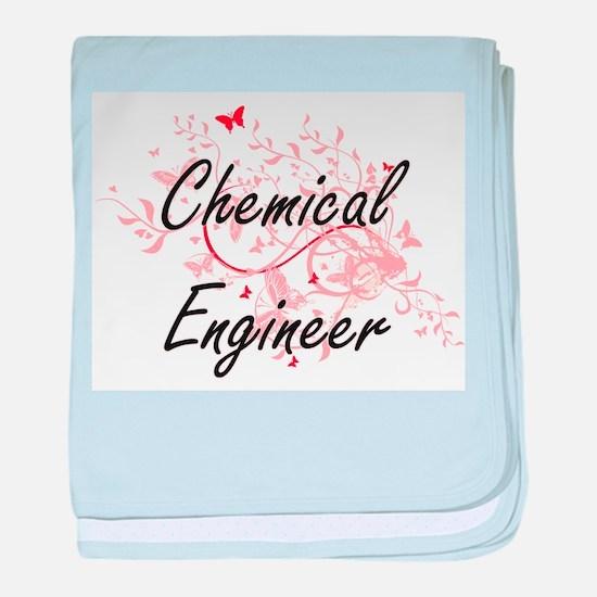 Chemical Engineer Artistic Job Design baby blanket