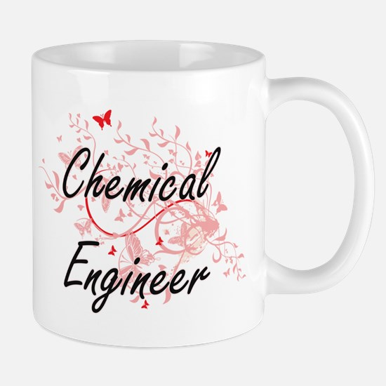 Chemical Engineer Artistic Job Design with Bu Mugs