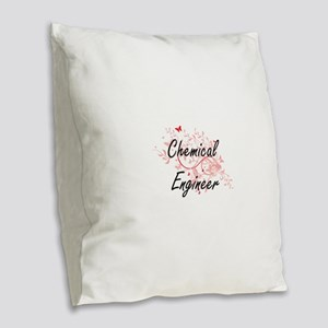 Chemical Engineer Artistic Job Burlap Throw Pillow