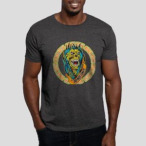 Biker Bitch Fiery Skull Dark T-Shirt