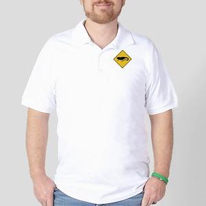 Caution Iguanas, Nicaragua Golf Shirt