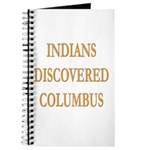 Indians Discovered Columbus Journal