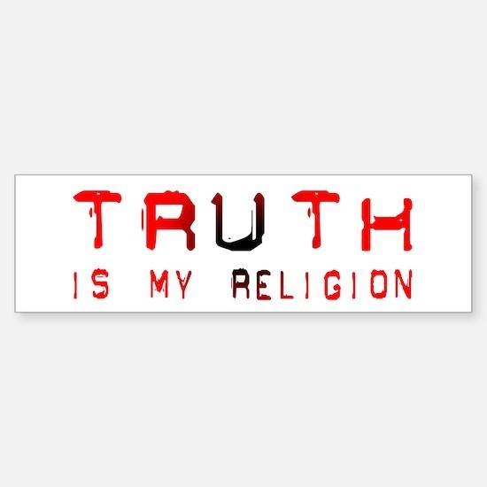 Truth Bumper Bumper Bumper Sticker