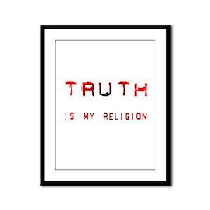 Truth Framed Panel Print