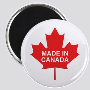Made in Canada Maple Leaf Magnet
