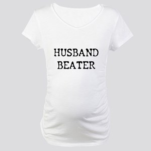 HUSBAND BEATER Maternity T-Shirt