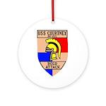 USS Courtney (DE 1021) Ornament (Round)