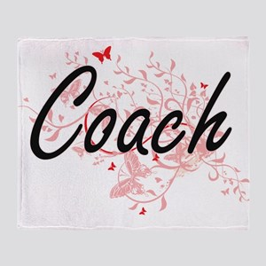 Coach Artistic Job Design with Butte Throw Blanket