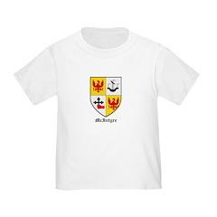 Mcintyre Toddler T Shirt