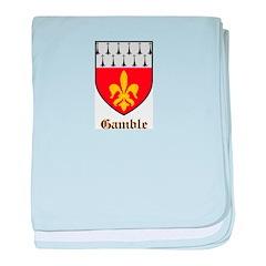 Gamble Baby Blanket
