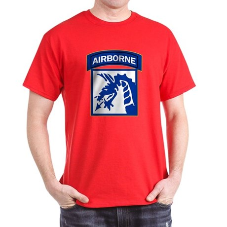 18th Army Airborne Dark T-Shirt