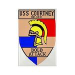 USS Courtney (DE 1021) Rectangle Magnet (100 pack)