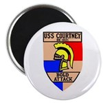 USS Courtney (DE 1021) Magnet
