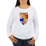 USS Courtney (DE 1021) Women's Long Sleeve T-Shirt