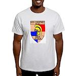USS Courtney (DE 1021) Light T-Shirt