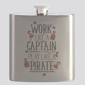 Play Like A Pirate Flask