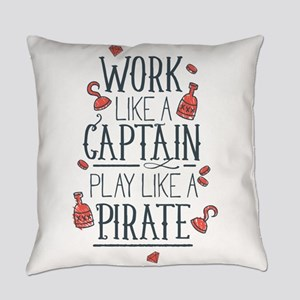Play Like A Pirate Everyday Pillow