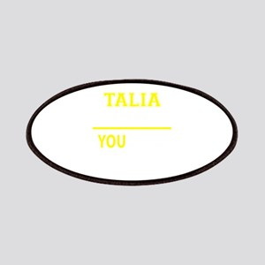 TALIA thing, you wouldn't understand! Patch