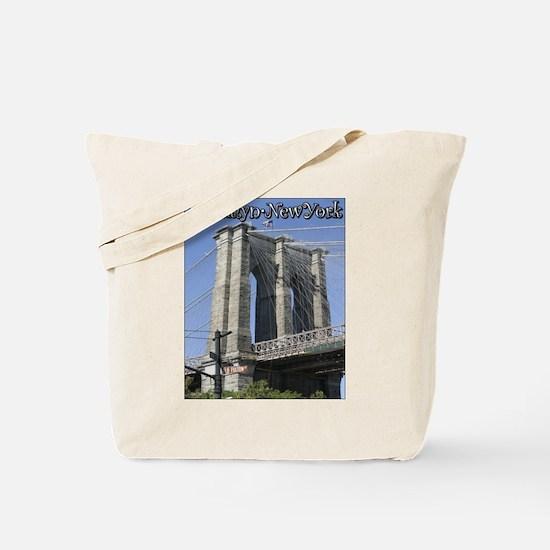 Brooklyn Bridge at Old Fulton Tote Bag
