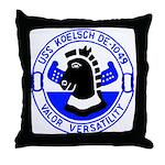 USS Koelsch (DE 1049) Throw Pillow