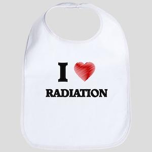I Love Radiation Bib