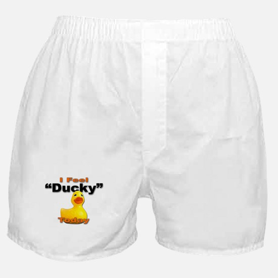 Rubber Ducky Today Boxer Shorts