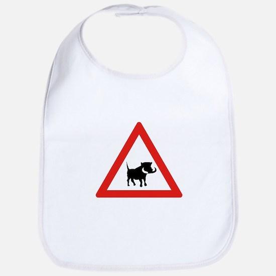 Beware of Warthogs, South Africa Bib