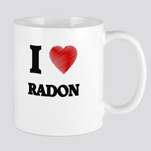I Love Radon Mugs