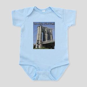 Brooklyn Bridge at Old Fulton Infant Bodysuit