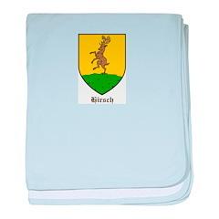 Hirsch Baby Blanket