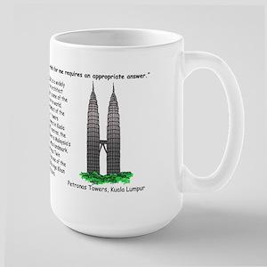 Cesar Pelli, Petronas Twin Towers Kuala Lumpur Mug