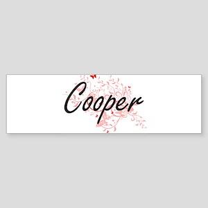 Cooper Artistic Job Design with But Bumper Sticker