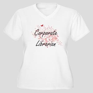 Corporate Librarian Artistic Job Plus Size T-Shirt