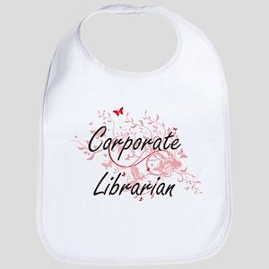 Corporate Librarian Artistic Job Design with B Bib