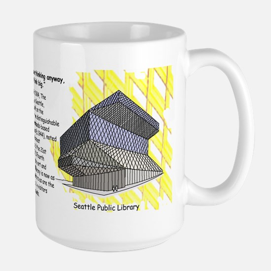 Rem Koolhaas, The Seattle Public Library Mugs