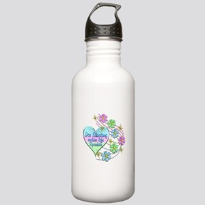 Ice Skating Sparkles Stainless Water Bottle 1.0L