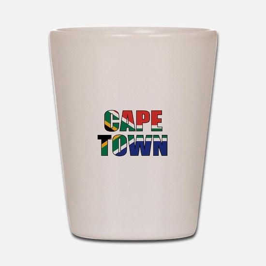 Cape Town Shot Glass