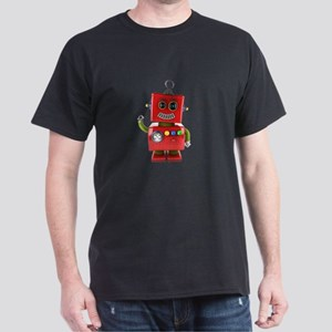 Red toy robot waving hello T-Shirt