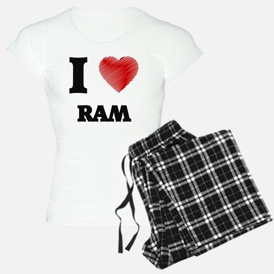 I Love Ram Pajamas