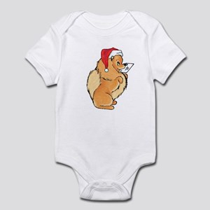 Christmas Card Riley Infant Bodysuit