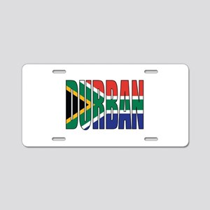 Durban Aluminum License Plate