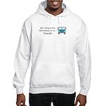 Christmas Truck Hooded Sweatshirt