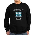 Christmas Truck Sweatshirt (dark)